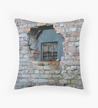 Window Wall Throw Pillow