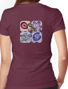 flowers, once again Womens Fitted T-Shirt