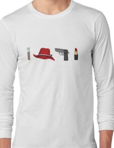 Agent Carter Things Long Sleeve T-Shirt