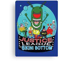 Justice League of Bikini Bottom Canvas Print