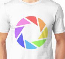Rainbow Shutter Unisex T-Shirt