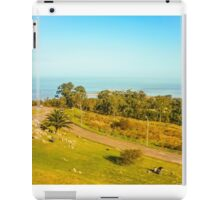 High View of Park and Coast in Montevideo iPad Case/Skin