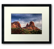 Sedona Typical Framed Print