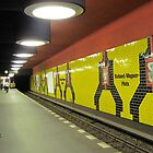Subway in Berlin by Nupur Nag
