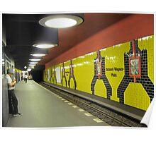 Subway in Berlin Poster