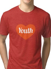 Youth Concept Graphic Symbol Pattern Tri-blend T-Shirt