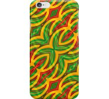 Tropical Colors Abstract Geometric Print iPhone Case/Skin