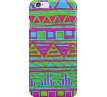 zigzag #1 iPhone Case/Skin