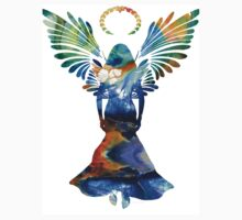Healing Angel - Spiritual Art Painting One Piece - Short Sleeve