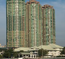 Modern Bangkok by johnrf