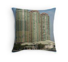 Modern Bangkok Throw Pillow