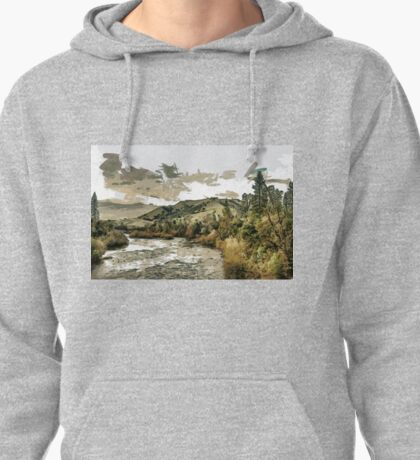 South Fork of the American River at Coloma in El Dorado County, California, USA Pullover Hoodie
