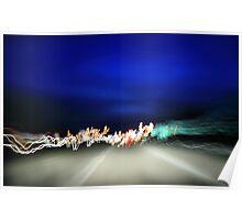 light of speed Poster