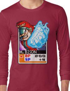 M. Bison - Street Fighter Long Sleeve T-Shirt