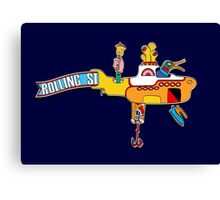 Yellow Submarine (sea of monsters) Canvas Print