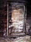 BEDROOM DOOR AT GRANDMA RUTH'S by Tammera