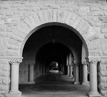 Archway. Stanford University Campus 2009 by Igor Pozdnyakov