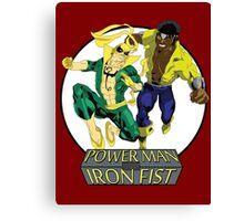 Power Man & Iron Fist Canvas Print