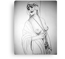 20'S GIRL 3 Canvas Print