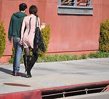 wished i had a girl who walked like that... by gordonjbucklew