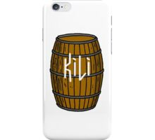 Kili in barrel iPhone Case/Skin