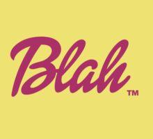 Blah Barbie Baby Tee