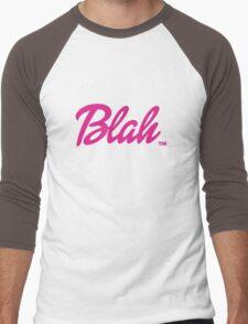 Blah Barbie Men's Baseball ¾ T-Shirt