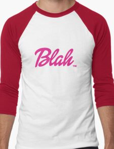 Blah Barbie Men's Baseball ¾ T-Shirt