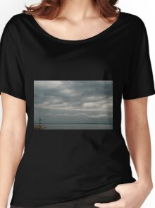 Moody Duino Sky Women's Relaxed Fit T-Shirt