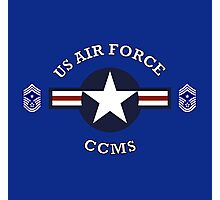 USAF Command Chief Master Sergeant Photographic Print