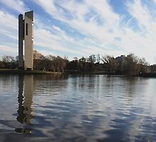 The Carillon, Canberra, ACT, Australia by GeorgeOne