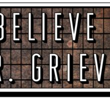 "Pixies - ""I Believe In Mr. Grieves"" T Shirt Sticker"