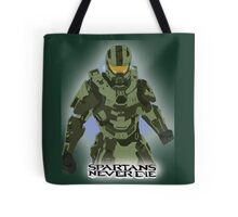 Spartans Never Die Tote Bag
