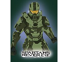 Spartans Never Die Photographic Print