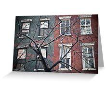 house facade Greeting Card