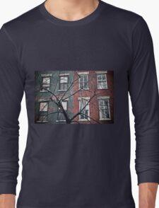 house facade Long Sleeve T-Shirt