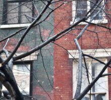 house facade Sticker