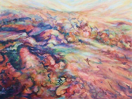 Everard Ranges, SA by Cathy Gilday