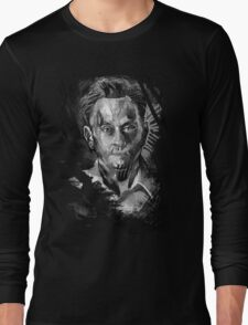 Ben Linus Portrait from Lost Long Sleeve T-Shirt