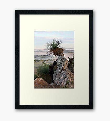 ~ Mount Barker Summit ~ Framed Print