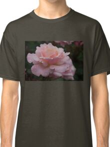 Rose and Rain in Pink Classic T-Shirt