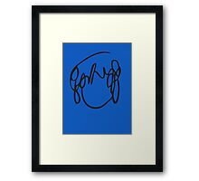 Ramona Flowers Black - Scott Pilgrim vs The World - Have You Seen A Girl With Hair Like This Black Framed Print