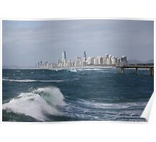 Surfers Paradise - beyond the waves Poster