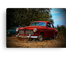 Abandoned Volvo Canvas Print