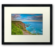 Beyond The Pinnacles Framed Print