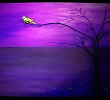 lonely purple  by tulay cakir