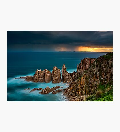 Stormy Sunset Above The Pinnacles Photographic Print