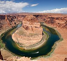 Horseshoe Bend in Arizona by Martin Lawrence