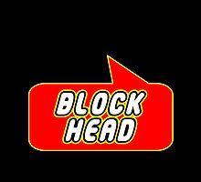 Block Head by Bubble-Tees.com by Bubble-Tees