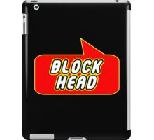 Block Head by Bubble-Tees.com iPad Case/Skin